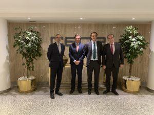 Reunión del Presidente ANGECO con el Presidente de CEOE