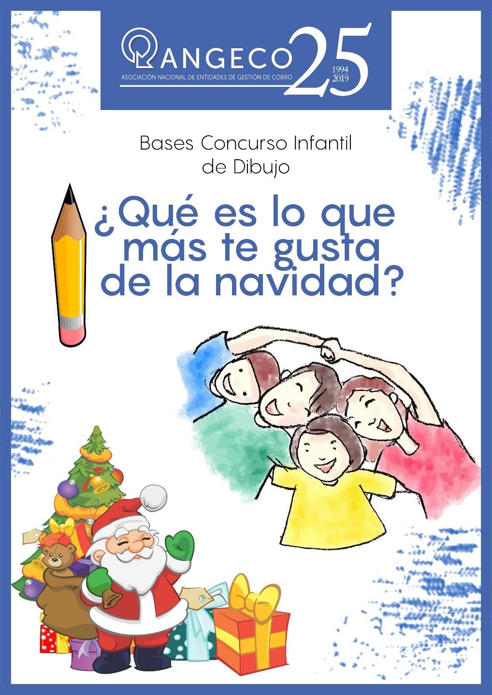 Concurso infantil de dibujo ANGECO  ¿Qué es para ti la Navidad?