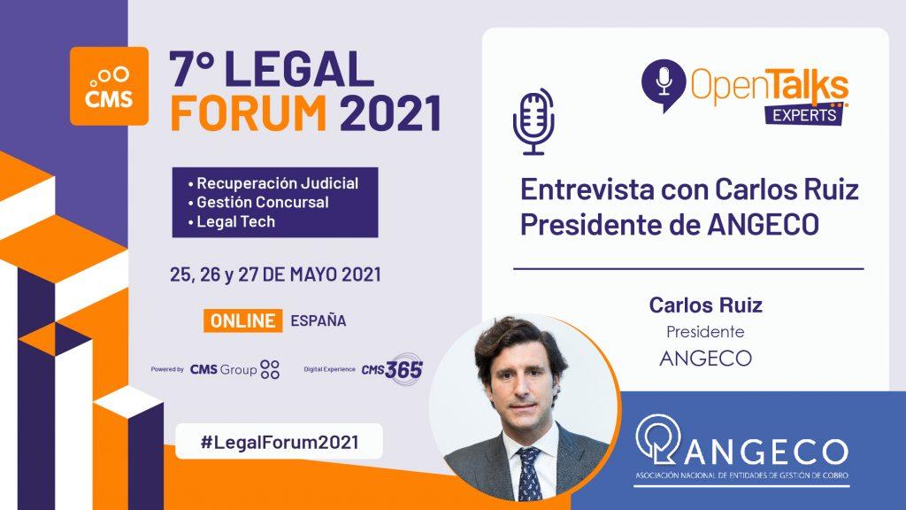 Participación de ANGECO en el Legal Fórum 2021