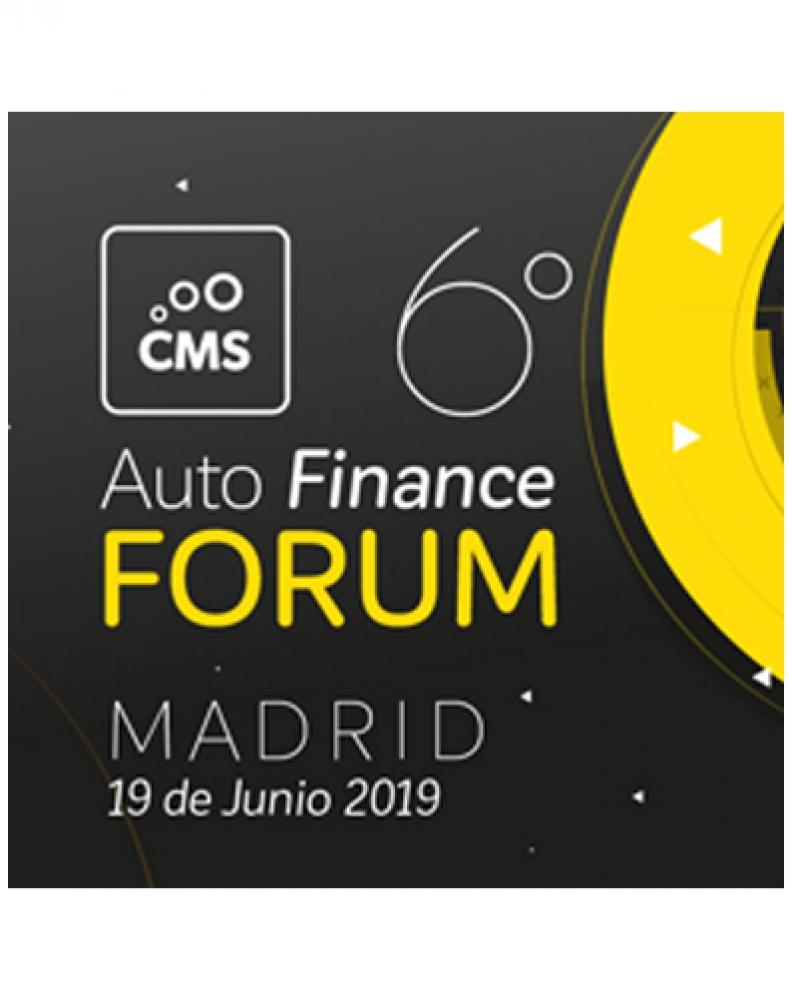 6º FORO CMS AUTOFINANCE Y SECURE PAYMENTS CONGRESS IFAES DE 19 DE JUNIO