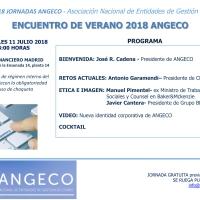 Encuentro de Verano 2018 de ANGECO