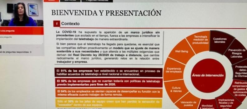 ¿Cómo deben adaptarse las empresas al nuevo marco jurídico del teletrabajo? RDL 28/2020