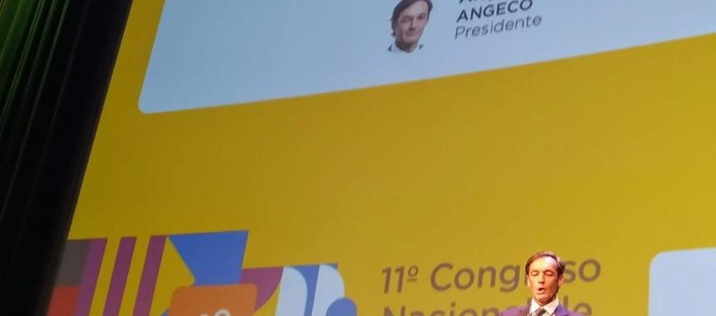 INAUGURACIÓN DEL PRESIDENTE DE ANGECO DEL 11º CONGRESO NACIONAL DE CRÉDITO