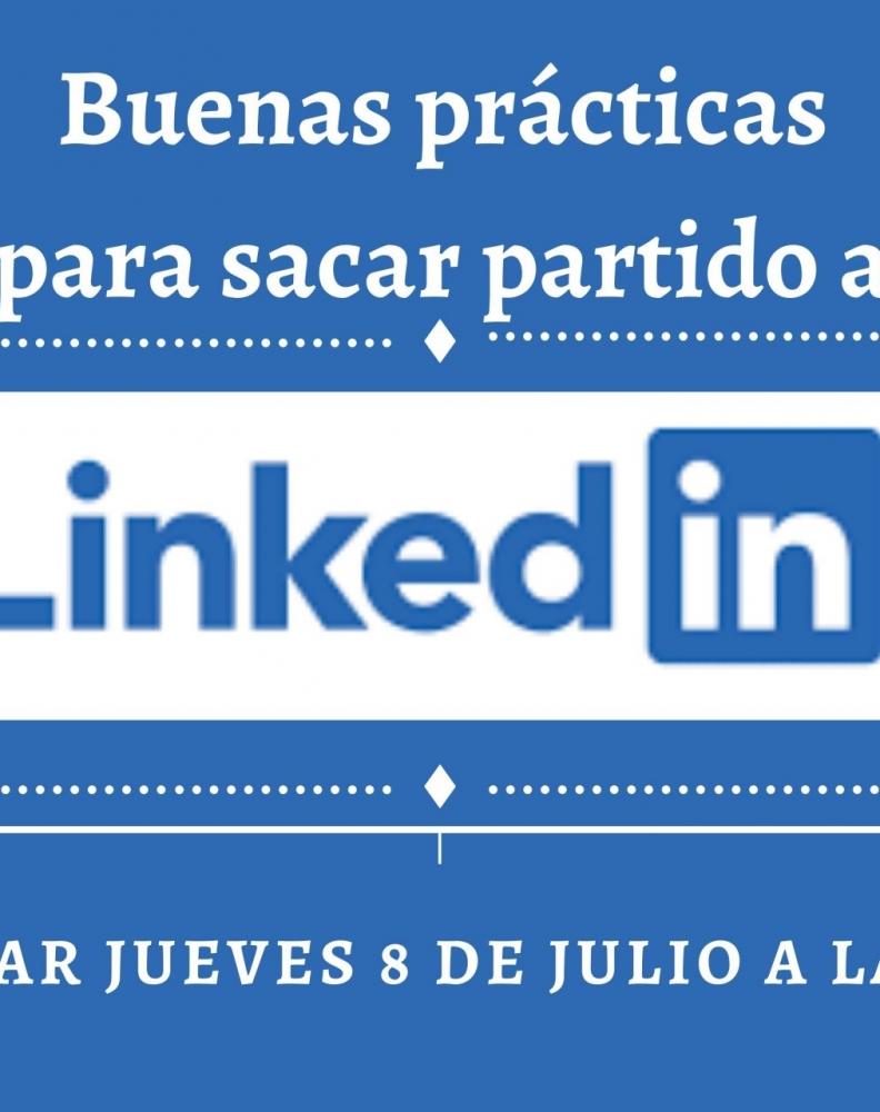 Webinar sobre buenas prácticas en LInkedin