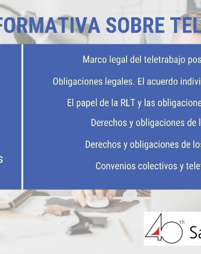 Sesión informativa sobre teletrabajo
